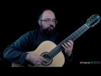 Curso de Guitarra nivel medio (repertorio) - Séptima Posición Ejercicio. Libro II, M Carcassi Op 59